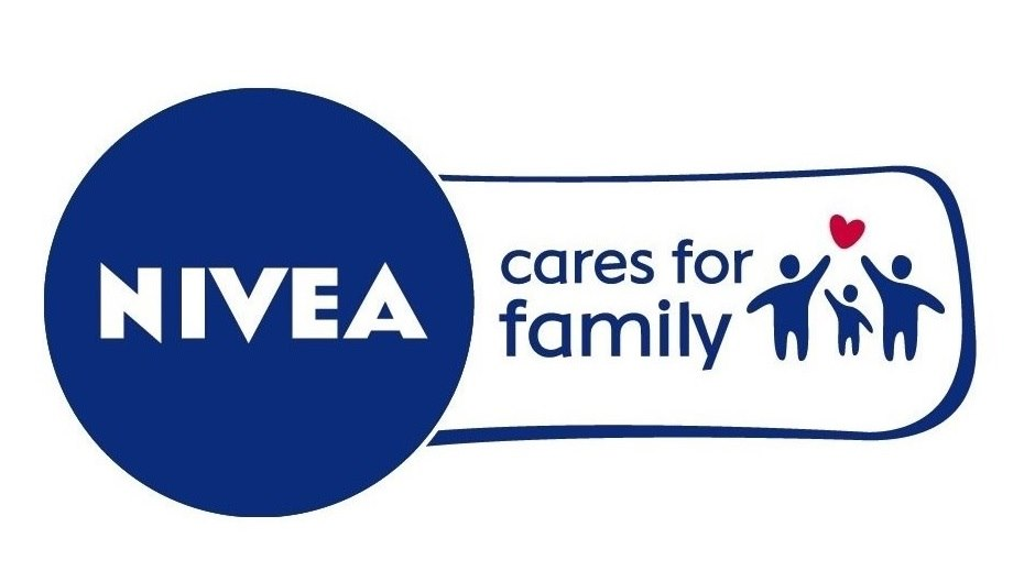 NIVEA cares for family Logo