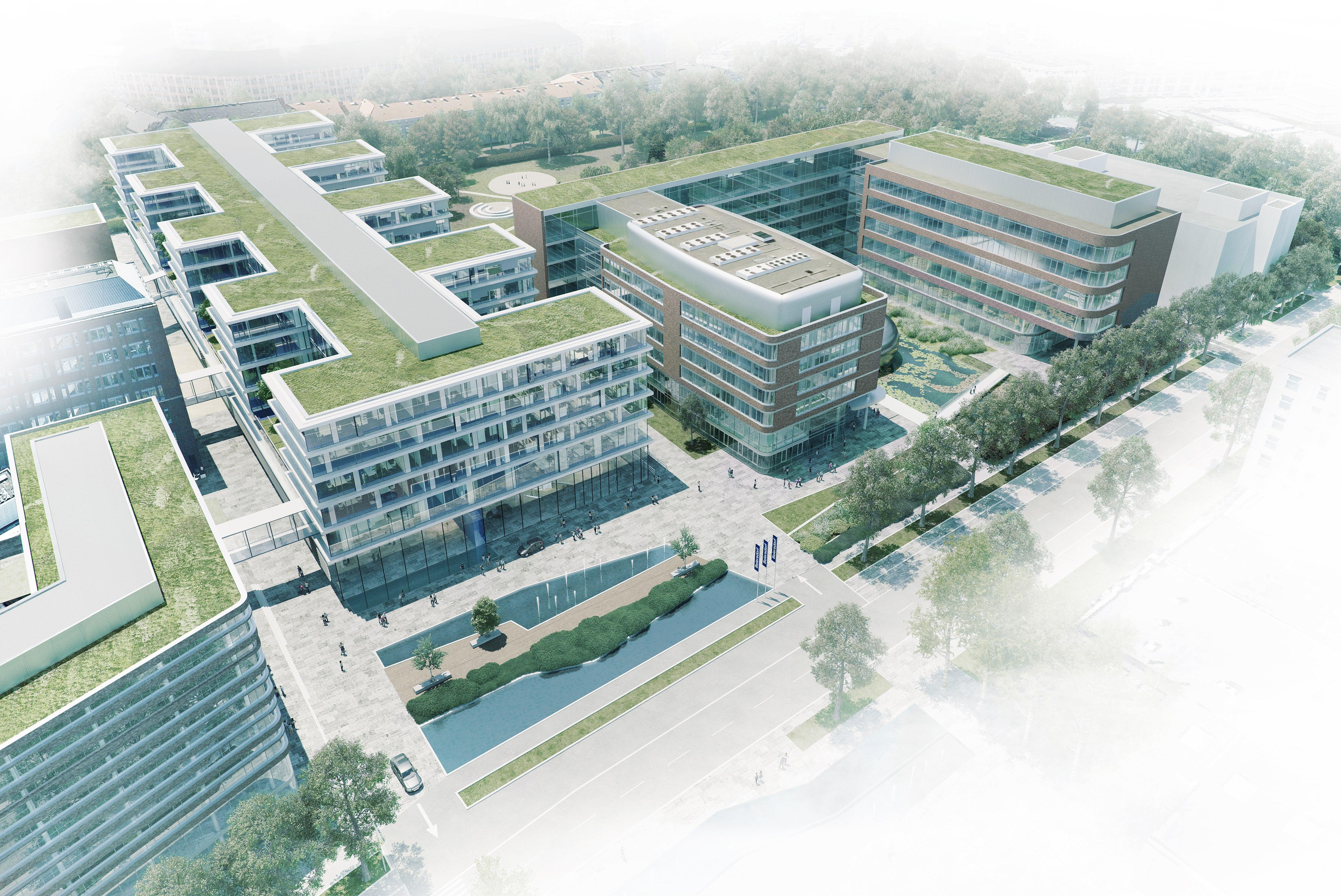 Neubau der Konzernzentrale | Beiersdorf